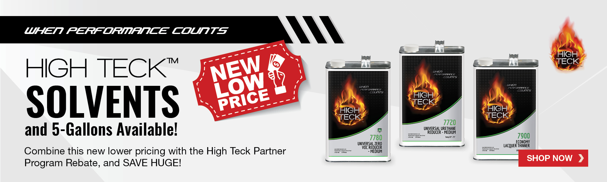 High Teck Solvents New Low Price July 2020