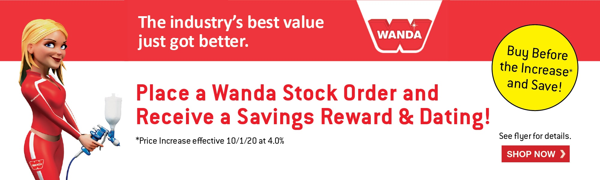 Wanda Price Protection Promo August 2020